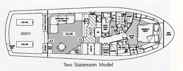 VIKING 48 floor plan layout