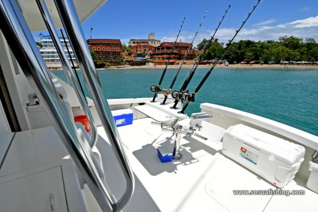 Fishing rods to fish in Sosua