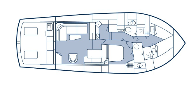 Post yacht layout
