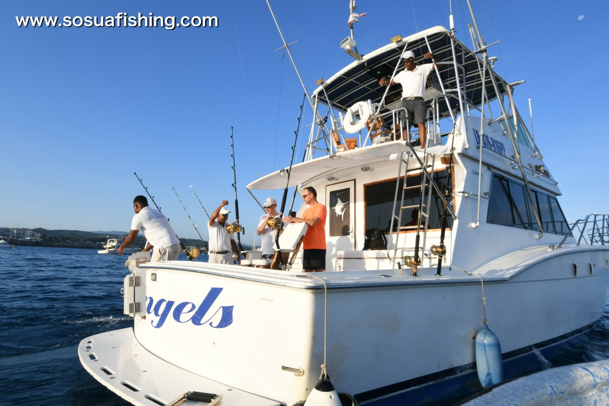 The hatteras in action